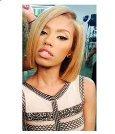 K Michelle Blonde Hair Michelle hair is always laid.. | Hairstyle: straight | Pinterest | K ...
