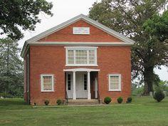 Center Presbyterian Church, 1852