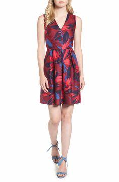 Main Image - Draper James Autumn Bloom Love Circle Dress