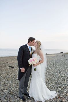 Beach access is open to all. Have the ceremony  here or a bonfire at night. Possibilities! #FrenchsPoint #weddings #maine