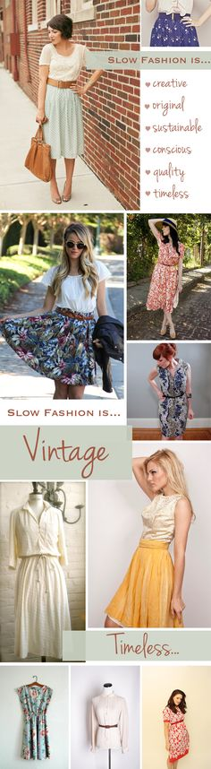 Why Slow Fashion is Awesome {via Epheriell}