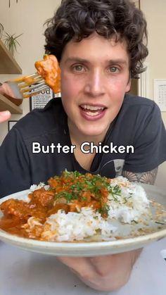 Vegan Dinner Recipes, Veggie Recipes, Indian Food Recipes, Vegetarian Recipes, Cooking Recipes, Healthy Recipes, Vegan Foods, Vegan Dishes, Vegan Butter Chicken