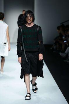 Feng Chen Wang Spring Summer 2016 Primavera Verano - Shanghai Fashion Week - #Menswear #Trends #Tendencias #Moda Hombre - D.P.