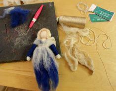 How to make magic wool fairies