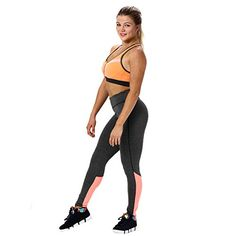 Introducing SunWardTM Women Sports Trousers Athletic Yoga Legging Pants Small Pink. Great Product and follow us to get more updates!
