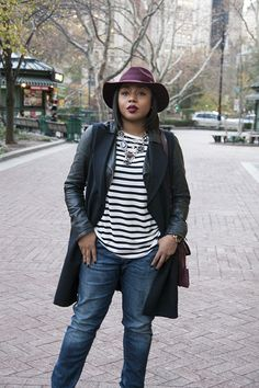 There are just a few key pieces I rely on to help me pull together aquick and stylish look