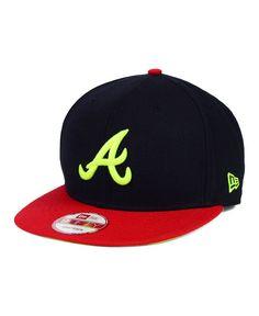 New Era Atlanta Braves Ac Pop 9FIFTY Snapback Cap