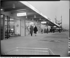 The Cloverdale Mall as it was years ago Toronto, Strip Mall, 50 Years Ago, Canada Travel, Landscape Photos, Ontario, Vintage Photos, 1950s, Cities