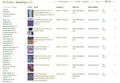 Cataloging a Quilt Book Library - cataloging with Goodreads