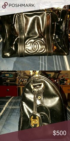 Chanel Boston Bag Truly loved, detachable strap and lock included. Serial number intact. CHANEL Bags Shoulder Bags