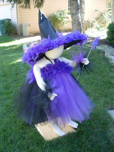 witch costumes made from tull   Custom Made Boutique Glamour Witch Costume by carriecolombo