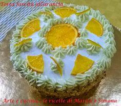 Arte e cucina...le ricette di Marisa e Simona: Torta farcita all'arancia senza glutine