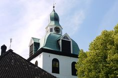 The belfry of Porvoo Cathedral. The belfry's oldest parts date from medieval times, and the present appearance is from the century. Medieval Times, Place Of Worship, Old Town, Finland, 18th Century, Attraction, Cathedral, Tourism, Mansions