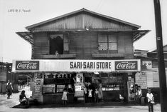Sari-Sari Store, Manila, Philippines, July Howard So… Philippines Culture, Manila Philippines, Urban Photography, Street Photography, Filipino Architecture, Gothic Architecture, Historical Architecture, Ancient Architecture, Old Photos