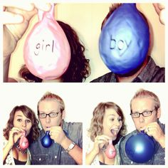 A baby gender reveal game: have everyone choose a balloon signifying the gender, the right ones will blow up while the others will already have a hole in them! Maternity Photography, Couple Photography, Photography Tips, Gender Party, Baby Gender, Mom And Baby, Baby Baby, Picture Ideas, Photo Ideas