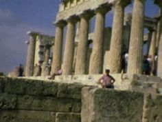 Temple of Aphaea, Greece (Aigina) - 1977  - Home Movie Clips