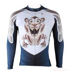 Ilpaladino Little Tiger Men s Long Short-sleeve Cycling Bike jersey T-shirt  Summer 51d50b2fb