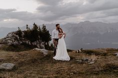 Berg Hochzeit Tirol Afterweddingshooting Mountain Love, Weddings, Wedding Dresses, Style, Fashion, Marriage Anniversary, Engagement, Bridle Dress, Bride Dresses