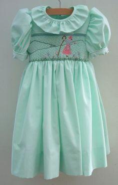 Smocked Bo Peep Dress  UK Holly Smocks  lots of smocked clothing