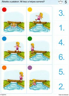 Piccolo: kroon kaart 5 Child Development Activities, Sequencing Activities, Educational Games For Kids, Preschool Learning Activities, Brain Activities, Kindergarten Worksheets, Speech Therapy Games, Learning Support, Autism Classroom