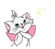 Disney Love, Disney Magic, Scooby Doo Toys, Marie Cat, Gata Marie, Kitten Cartoon, Disney Cats, Cute Animal Illustration, Aristocats