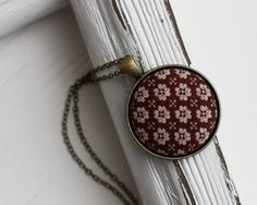 Vintage Fabric Jewelry Boho Jewelry Boho Necklace by TheWhirlwind, $23.00