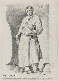 Francisco de Goya - Esopo el Fabulador (Copia del original de Diego Velázquez), 1778
