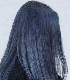 Hair Color Streaks, Hair Color Purple, Hair Dye Colors, Hair Color For Black Hair, Gray Color, Korean Hair Color, Green Hair, Ash Blue Hair, Dyed Hair Blue