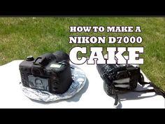 Canon-Kamera Torte - Camera Cake Tutorial - Canon Kuchen - von Kuchenfee - YouTube