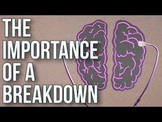 In a rather stark but informative animation, the consistently insightful School of Life explains why they believe breakdowns are necessary to live an authentic life. They cite the need to reconcile the disquieted parts of the mind with those that actively deny emotional pain. While these different parts of the mind