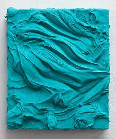 """Jason Martin: """"Alsace"""" - 2012.  pure pigment on aluminum  (quinacridone magenta)"""