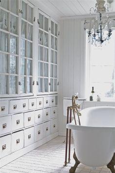 Gorgeous bathroom inspiration!
