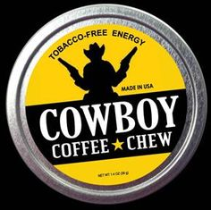 Cowboy Coffee Chew Tobacco Alternative dip