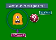 What is SPF record good for?   Part 7#17 - http://o365info.com/what-is-spf-record-good-for-part-7-17/