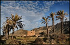 Rodalquilar castle, Cabo De Gata, Almeria.