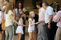 "11 August 2014 King Felipe, Queen Letizia  and their daughters visited ""Sierra de Tramuntana"" (Tramuntana Mountains) declared a World Heritage Site by UNESCO, in Palma de Mallorca"