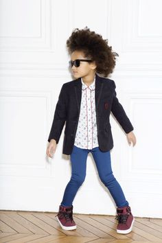 Fashion photography for kids