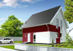 Domy półtorakondygnacyjne Point 106 || #houses #domy || Więcej na: http://www.danwood.pl/poltorakondygnacyjne/729.htm