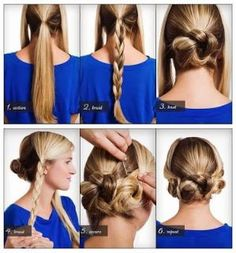 How To Style a Triple Braided Bun | DIY & Crafts Tutorials by Hairstyle Tutorials