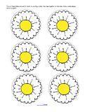 Flowers activity pages for preschool, pre-K and Kindergarten