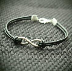 Infinity Wish Bracelet REAL LEATHER by INFINITYBRACELETLOVE, $2.99