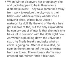 Jacin and Winter ftw