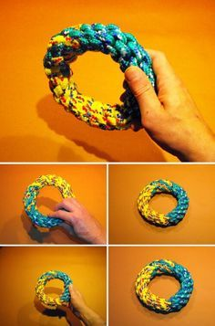 44 Really Cool Homemade DIY Dog Toys Your Dog Will Love – – Fournitures pour animaux Homemade Dog Toys, Diy Dog Toys, Pet Toys, Diy Chew Toys For Dogs, Diy Pour Chien, Toy Puppies, Toy Dogs, Poodle Puppies, Rottweiler Puppies