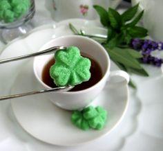 Shamrock Würfelzucker für Tee-Parteien Duschen von WishingwellArt