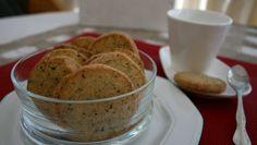 Sabor en cristal: Galletas de manzanilla y té
