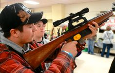 Organizers with the New Ontario Shooters Association Gun Show were thrilled with the weekend attendance at the show.