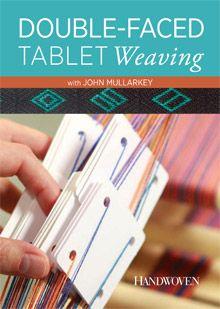 double-faced tablet weaving workshop
