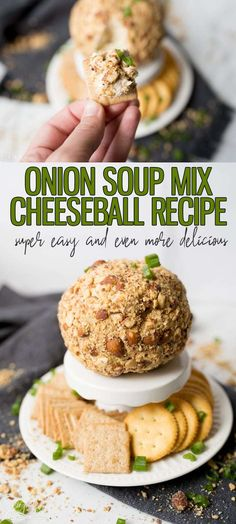 Onion Cheese Ball – Cooking With Karli Onion Cheese Ball is an easy appetizer to add to your holiday party. With only 5 ingredients, making a Cheese Ball at home is a win, win! Pair the Cheese Ball with a crunchy cracker for a show stopping appetizer. Best Holiday Appetizers, Holiday Recipes, Cheese Ball Recipes, Appetizer Recipes, Easy Cheeseball, Cream Cheese Ball, Gluten Free Puff Pastry, Homemade Cheese, Clean Eating Snacks