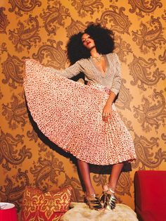 Solange Knowles : a master of patterns