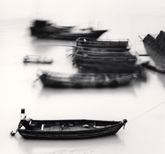 Michael Kenna. Steady Boat, Xiapu, China, 2010  http://www.michaelkenna.net